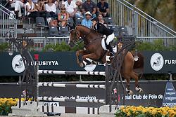 Meyer Janne Friederike, (GER), Goya 27<br /> Furusiyya FEI Nations Cup Jumping Final - Barcelona 2016<br /> © Hippo Foto - Dirk Caremans<br /> 25/09/16
