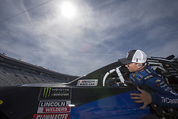 April 13, 2018 - Bristol, Tennessee, United States of America - April 13, 2018 - Bristol, Tennessee, USA: Jamie McMurray (1) gets ready to practice for the Food City 500 at Bristol Motor Speedway in Bristol, Tennessee. (Credit Image: © Stephen A. Arce/ASP via ZUMA Wire)