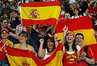 Photo: Glyn Thomas.<br />Spain v Tunisia. FIFA World Cup 2006. 19/06/2006.<br /> Spanish fans celebrate.