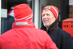 Bristol city fans arrive at Aston Gate  - Photo mandatory by-line: Alex James/JMP - Mobile: 07966 386802 - 25/01/2015 - SPORT - Football - Bristol - Ashton Gate - Bristol City v West Ham United - FA Cup Fourth Round