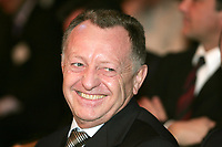 Fotball<br /> Foto: Dppi/Digitalsport<br /> NORWAY ONLY<br /> <br /> FOOTBALL - CHAMPIONS LEAGUE 2006 - QUATER FINAL DRAW - 10/03/2006 <br /> <br /> JEAN MICHEL AULAS (LYON PDT)  DURING THE DRAW