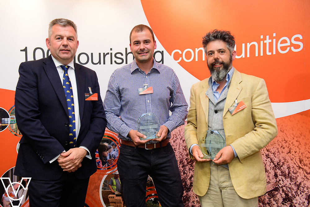 North Kesteven District Council's Building Control Awards 2018. NKDC leader Councillor Richard Wright presents the award for best extension or alteration to an existing home to Somerton Castle, Lowfields, Boothby Graffoe.<br /> <br /> Picture: Chris Vaughan Photography for NKDC<br /> Date: June 7, 2018