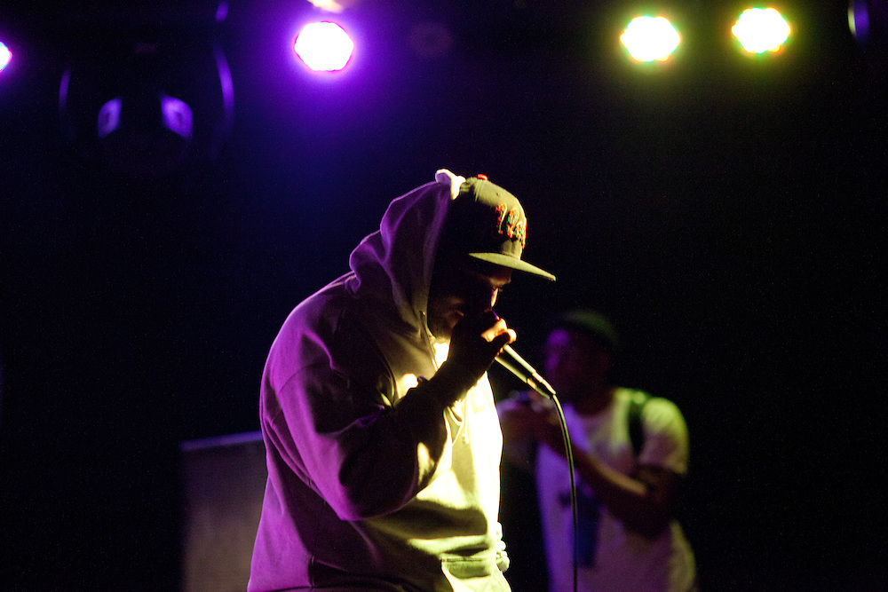 Passaic, N.J., rapper Rasheed Chappell performs at the Knitting Factory in Williamsburg, Brooklyn, Saturday, Dec. 3, 2011. Claudio Papapietro/For The Star-Ledger