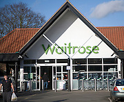 Waitrose shop, Saxmundham, Suffolk, England