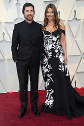 The 91st Annual Academy Awards Arrivals at The Dolby Theatre in Hollywood, California on 2/24/19. 24 Feb 2019 Pictured: Christian Bale, Sibi Blazic. Photo credit: River / MEGA TheMegaAgency.com +1 888 505 6342