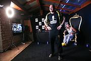 """Dr. Sindsen: Modenschau - Livestream, """"Wir setzen ein Zeichen - Gegen Mobbing, Berlin, 18.07.2020<br /> Boxer Denny Heidrich<br /> © Torsten Helmke"""