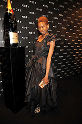 TOLULAH ADEYEMI at the Moet & Chandon Tribute to Cinema party held at the Big Sky Studios, Brewery Road, London N7 on 24th March 2009.