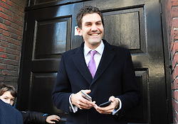 Bekanntgabe des neuen UKIP-Parteivorsitzenden in London / 281116 *** LONDON, UK 28TH NOVEMBER 2016: John Rees-Evans at the Announcement of The New UKIP Leader at The Emmanuel Center, London, England. 28th November 2016.