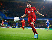 Liverpool's Neco Williams  during the English FA Cup fifth round soccer match between Chelsea and Liverpool at Stanford Bridge Stadium, Wednesday, March 3, 2020, in London, United Kingdom. (ESPA-Images/Image of Sport)