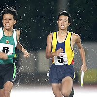 Photos of the A, B, C Division boys' and girls' 4x100m and 4x400m relays.