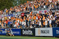 AMSTELVEEN - publiek, volle tribunes, toeschouwers,   tijdens dames hockeywedstrijd , Spanje-Nederland  (1-7),  bij het EK hockey. Euro Hockey 2021.   COPYRIGHT KOEN SUYK