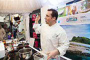 Oscar's Michael O'Meara award winning chef and author of 'Seafood Gastronomy'<br /> <br /> Photo:Andrew Downes, XPOSURE.
