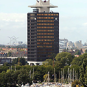 Tros winterpresentatie 2002 Amsterdam, Shell gebouw