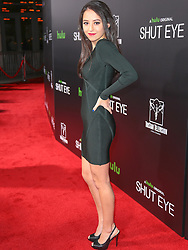 Stars seen attending the premiere of Hulu's 'Shut Eye' at ArcLight Theatre Hollywood in Los Angeles, California.<br /> 01 Dec 2016<br /> Pictured: Havana Guppy.<br /> Photo credit: Bauer Griffin / MEGA<br /> <br /> TheMegaAgency.com<br /> +1 888 505 6342