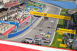 03.08.2014, Red Bull Ring, Spielberg, AUT, DTM Red Bull Ring, Renntag, im Bild Joey Hand, (USA, Crowne Plaza Hotels BMW M4 DTM), Bruno Spengler, (CAN, BMW Bank M4 DTM), Mattias Ekstroem, (SWE, Red Bull Audi RS 5 DTM) // during the DTM Championships 2014 at the Red Bull Ring in Spielberg, Austria, 2014/08/03, EXPA Pictures © 2014, PhotoCredit: EXPA/ M.Kuhnke