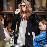 NLD/Amsterdam/20160409 - Chelsey Weimar, vriendin Leonardo DiCaprio   -     Chelsey Weimar, girlfriend of american actor Leonardo DiCaprio                     ****** NO INTERNET/ONLINE  - SALE ONLY NETHERLANDS - MINIMUM FEE  **************