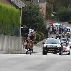 01-10-2016: Wielrennen: Olympia Tour: Reuver<br />REUVER (NED) wielrennen  <br />Koplopers van de dag Jan Maas en Nielson Powless