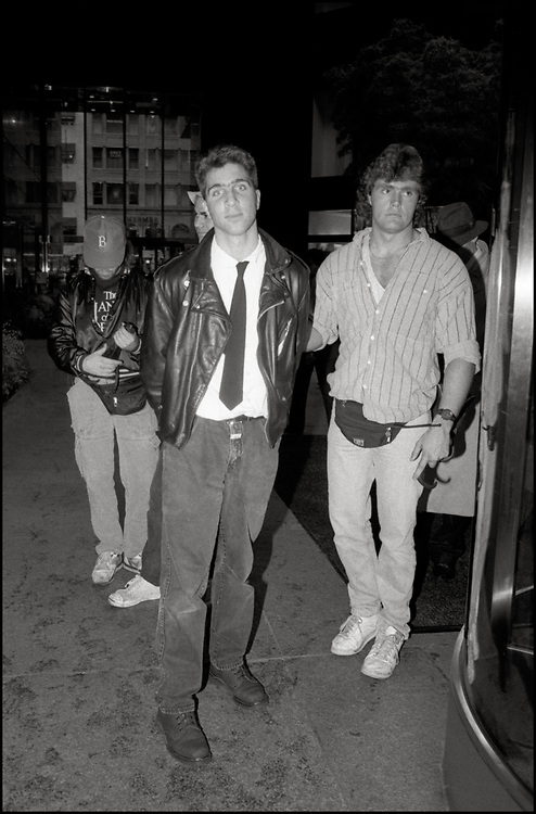 Matt Ebert of ACT UP was arrested inside Trump Tower on On Oct. 31, 1989. Roughly 100 protesters from ACT UP descended on Trump Tower at 5th Avenue and 56th Street. The Trump Tower protest was organized by ACT UP's Housing Committee, which hoped to draw attention to the lack of housing for homeless people with AIDS.