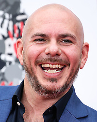 HOLLYWOOD, LOS ANGELES, CA, USA - DECEMBER 14: Musician Pitbull (Armando Christian Perez) attends the Hand And Footprint Ceremony Honoring him held at the TCL Chinese Theatre IMAX on December 14, 2018 in Hollywood, Los Angeles, California, United States. 14 Dec 2018 Pictured: Pitbull, Armando Christian Perez. Photo credit: Xavier Collin/Image Press Agency/MEGA TheMegaAgency.com +1 888 505 6342