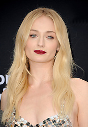 Sophie Turner at the premiere of Amazon Prime Video's 'Chasing Happiness' held at the Regency Bruin Theatre in Westwood, USA on June 3, 2019.