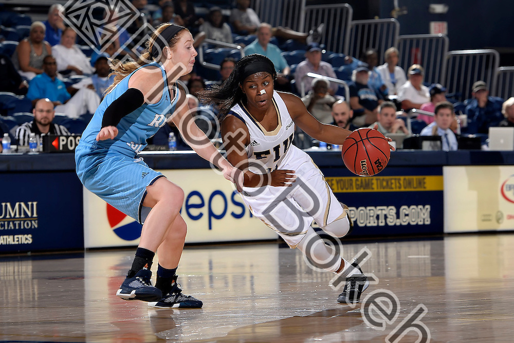2015 December 28 - FIU's Kristian Hudson (15). <br /> Florida International University fell to Rhode Island, 50-68, at FIU Arena, Miami, Florida. (Photo by: Alex J. Hernandez / photobokeh.com) This image is copyright by PhotoBokeh.com and may not be reproduced or retransmitted without express written consent of PhotoBokeh.com. ©2015 PhotoBokeh.com - All Rights Reserved