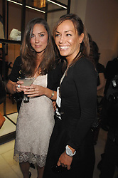 Left to right, KATE MIDDLETON and TARA PALMER-TOMPKINSON at a party to celebrate the publication of 'Young Stalin' by Simon Sebag-Montefiore at Asprey, New Bond Street, London on 14th May 2007.<br />