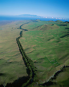 Road from Hawi to Kamuela, Kohala, Island of Hawaii<br />