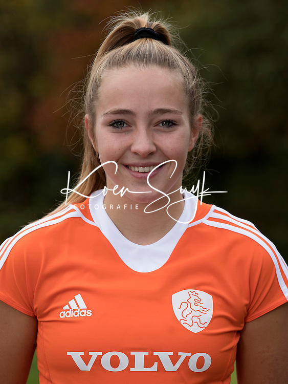 UTRECHT - RENEE VAN LAARHOVEN. Jong Oranje hockey meisjes -21. COPYRIGHT KOEN SUYK