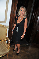 LADY TINA GREEN at the 39th birthday party for Nick Candy in association with Ciroc Vodka held at 5 Cavindish Square, London on 21st Januatu 2012.
