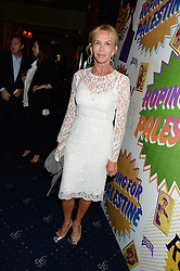 TRUDIE STYLER at the Hoping Foundation's 'Rock On' Benefit Evening for Palestinian refuge children held at the Cafe de Paris, London on 20th June 2013.