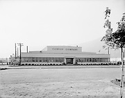 """Ackroyd 12889""""Convoy Co. building exterior. October 25, 1964"""" (Sandberg Manufacturing Co. 3850 NW Yeon ORBC Oregon Beverage Recycling Cooperative Convoy Co. 3900 NW Yeon DEQ site ID 4015)"""