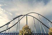 Germany, Freiburg ,il centro divertimenti  Europa Park a 20 mn da Friburgo utilizza pannelli solari <br /> <br /> Germany, Europa Park, 20 mn to Freiburg is partially powered by solar energy