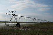 irrigation system in Oklahoma pandhandle