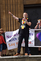 Andy Futter, Chair of Norwich Pride, Norwich Pride 30 July 2016 UK