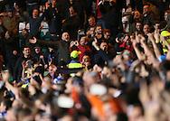 England's fans taunt the Scots<br /> <br /> - International Friendly - Scotland vs England- Celtic Park - Glasgow - Scotland - 18th November 2014  - Picture David Klein/Sportimage