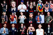 A selection of portraits from a project exploring the diversity of the young Evangelical Christian movement in the United States.