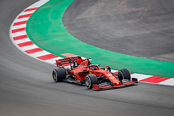February 19, 2019 - Montmelo, Barcelona, Spain - Barcelona-Catalunya Circuit, Montmelo, Catalonia, Spain - 19/02/2018: Charles Leclerc of Scuderia Ferrari during second journey of F1 Test Days in Montmelo circuit. (Credit Image: © Javier Martinez De La Puente/SOPA Images via ZUMA Wire)