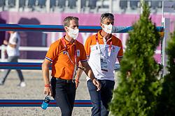 Van Der Vleuten Maikel, NED, Van Der Vleuten Eric, NED<br /> Olympic Games Tokyo 2021<br /> © Hippo Foto - Dirk Caremans<br /> 03/08/2021