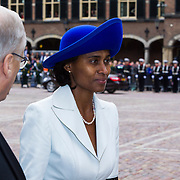 NLD/Den Haag/20130917 -  Prinsjesdag 2013, Laetitia Griffith