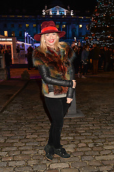 MARISSA HERMER at Skate at Somerset House in association with Fortnum & Mason held on 10th November 2014.