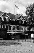 Henley On Thames. Oxfordshire/ Berkshire. United Kingdom. Leander Flag Flying over the club. 27.05.2017. General View, River Thames. <br /> <br /> <br /> [Mandatory Credit Peter SPURRIER/Intersport Images]