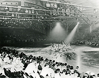 1938 Ice skating performance at The Pan-Pacific Auditorium