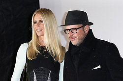 © Licensed to London News Pictures. 14/01/2015, UK. Claudia Schiffer, Matthew Vaughn, Kingsman: The Secret Service - World Film Premiere, Leicester Square, London UK, 14 January 2015, Photo credit : Richard Goldschmidt/Piqtured/LNP
