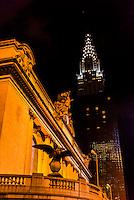 Grand Central Station and Chrysler Building, New York, New York USA.