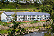 Halton Mill, Lancaster Co-housing. An environmentally friendly and ethical business hub near Lancaster, on the banks of the River Lune. Halton, Lancashire.