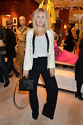MARISSA MONTGOMERY at a party to celebrate the publication of Front Roe by Louise Roe held at Ralph Lauren, 1 New Bond Street, London on 1st April 2015.