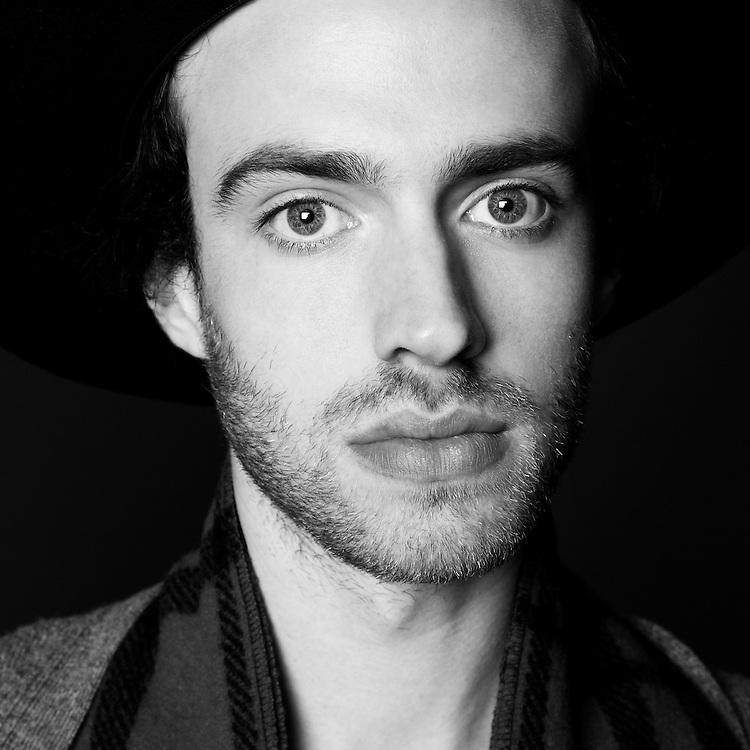 Portrait of Finn Andrews (lead singer) from The Veils