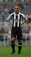 Photo: Andrew Unwin.<br /> Newcastle United v Villarreal. Pre Season Friendly. 05/08/2006.<br /> Newcastle's Scott Parker.