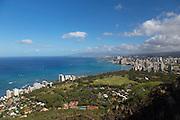 Diamond Head State Monument, Summit trail, Waikiki, Honolulu, Oahu, Hawaii