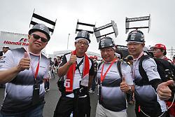 McLaren fans.<br /> 08.10.2016. Formula 1 World Championship, Rd 17, Japanese Grand Prix, Suzuka, Japan, Qualifying Day.<br /> Copyright: Moy / XPB Images / action press